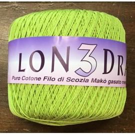 Cotone Londra col. Verde mela  - 287