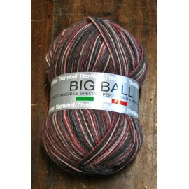 Wool Big Ball with. 5007 - Gradient brown
