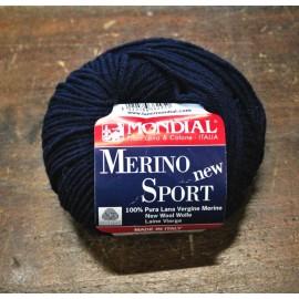 Lana Merino Sport col. 417 - Blu notte