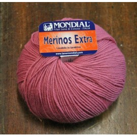 Merinos wool Extra over. 153 - powder Pink