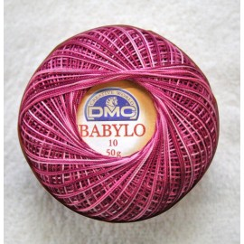 Cotton Babylo Tit. 10 (8) col. Peony faded