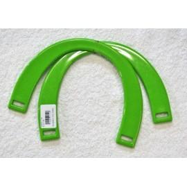 Manici per borsa plastica rigida col. Verde