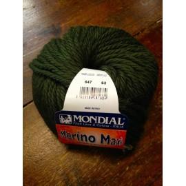 Merino wool Maxi col. 647 - Green