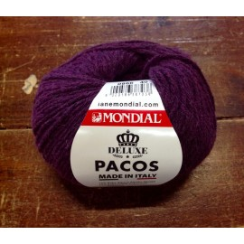Wool Pacos col. 0866 - Purple