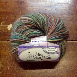 Wool Aztec col. 05 - Green/Purple/Red/Yellow