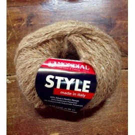 Wool Style with. 862 - Brown