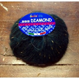 Wool Diamond with the. 15 - Black/Gold
