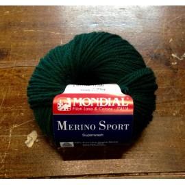 Lana Merino Sport col. 52 - Verde scuro