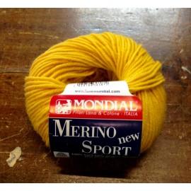 Lana Merino Sport col. 355 - Giallo