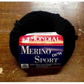 Lana Merino Sport col. 200 - Nero