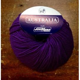 Wool Australia col. 417 - dark Purple