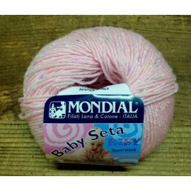 Wool Baby Silk col. 633 - The Pink Print