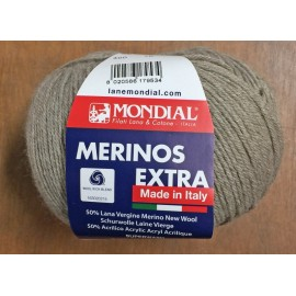 Merinos wool Extra over.400 - light Grey