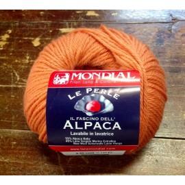 Wool Alpaca with. 804 - Orange