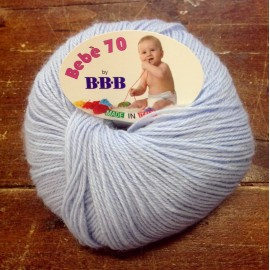 Wool Baby 70 Col. 9002 - Blue