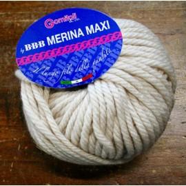 Lana Merina Maxi col. 9904 - Panna