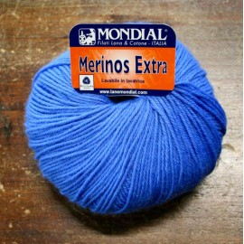 Merinos wool Extra over. 1 - Blue jeans