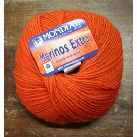 Merinos wool Extra over. 331 - Orange
