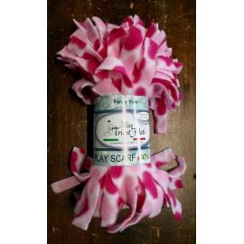 Lana Play Scarf - 21 sfumata: fucsia, rosa, bianca