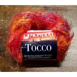 Lana Tocco - 832 sfumata arancio, rosso e porpora