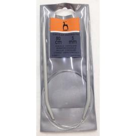 Circular needle mis. 5 mm - 80 cm