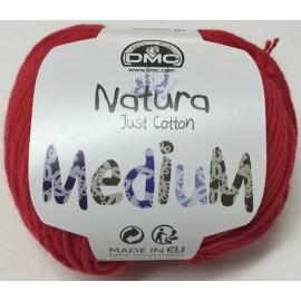 Cotton Nature Medium - col. 55 red