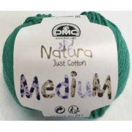 Cotton Nature Medium - col. 138 emerald green