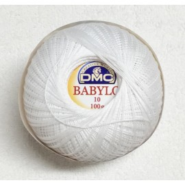 Cotton Babylo Tit. 10 (8) col. White - B5200