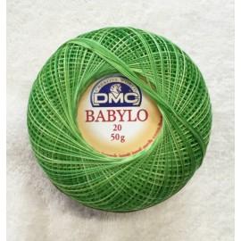 Cotone Babylo Tit. 20 (12) col. Verde sfumato - 114